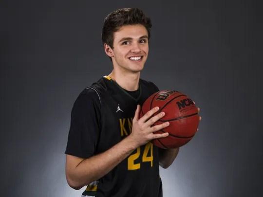 Gilbert Christian senior forward Nate Graville is a