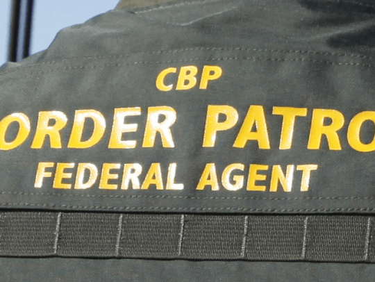 The incident occurred around 9:15 am Wednesday when a Border Patrol agent spotted a vehicle trying to go around the Highway 111 immigration checkpoint.