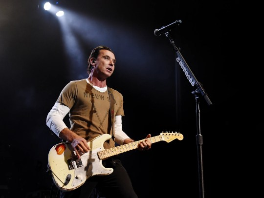 Gavin Rossdale of Bush.