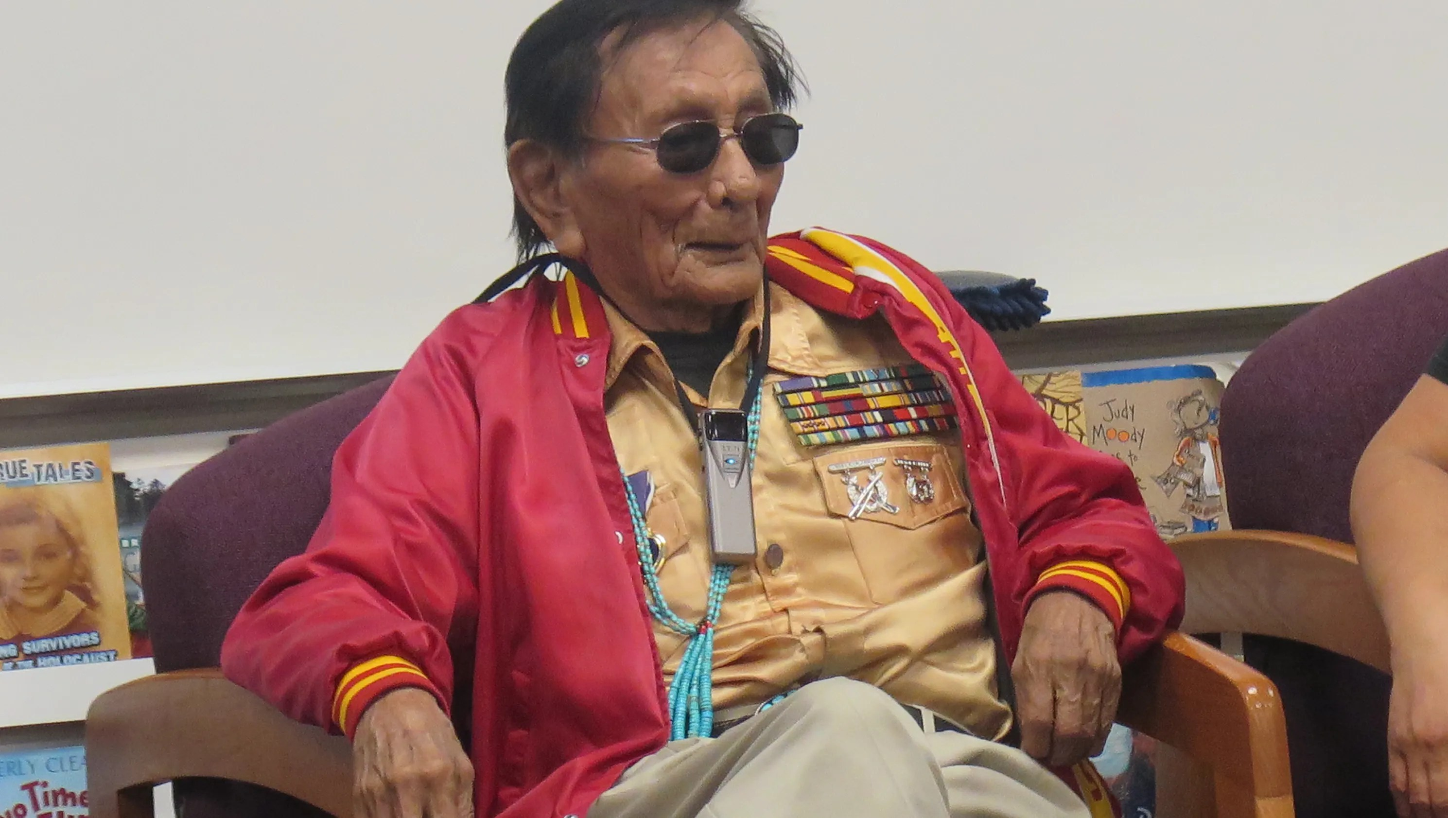 Navajo Code Talker Treats Local Students To Living Lesson