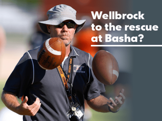 Chandler Basha hired coach Rich Wellbrock away from
