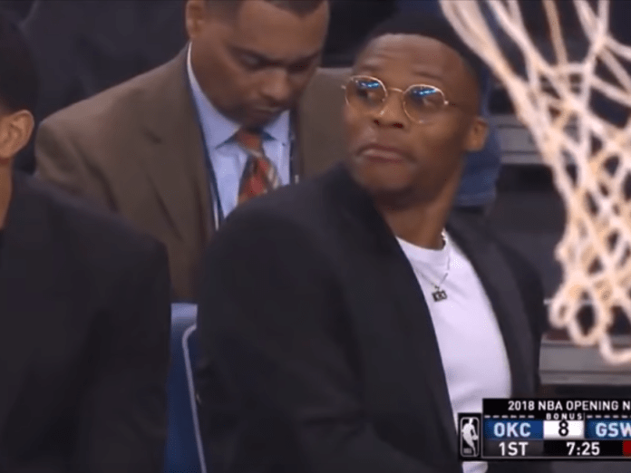 russell westbrook snack stealing