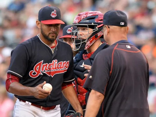 Danny Salazar To Get MRI On Elbow After Indians' Loss
