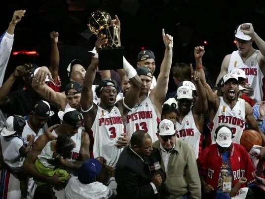 CBS Sports 2004 Detroit Pistons Are Worst NBA Champion