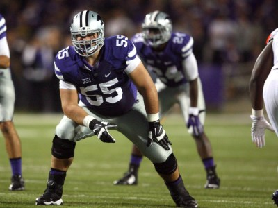 Kansas State offensive tackle Cody Whitehair