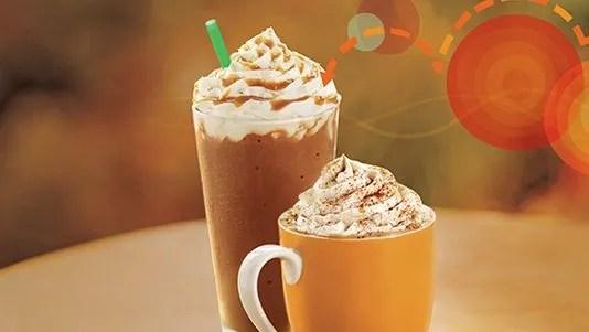 pumpkin spice latte is