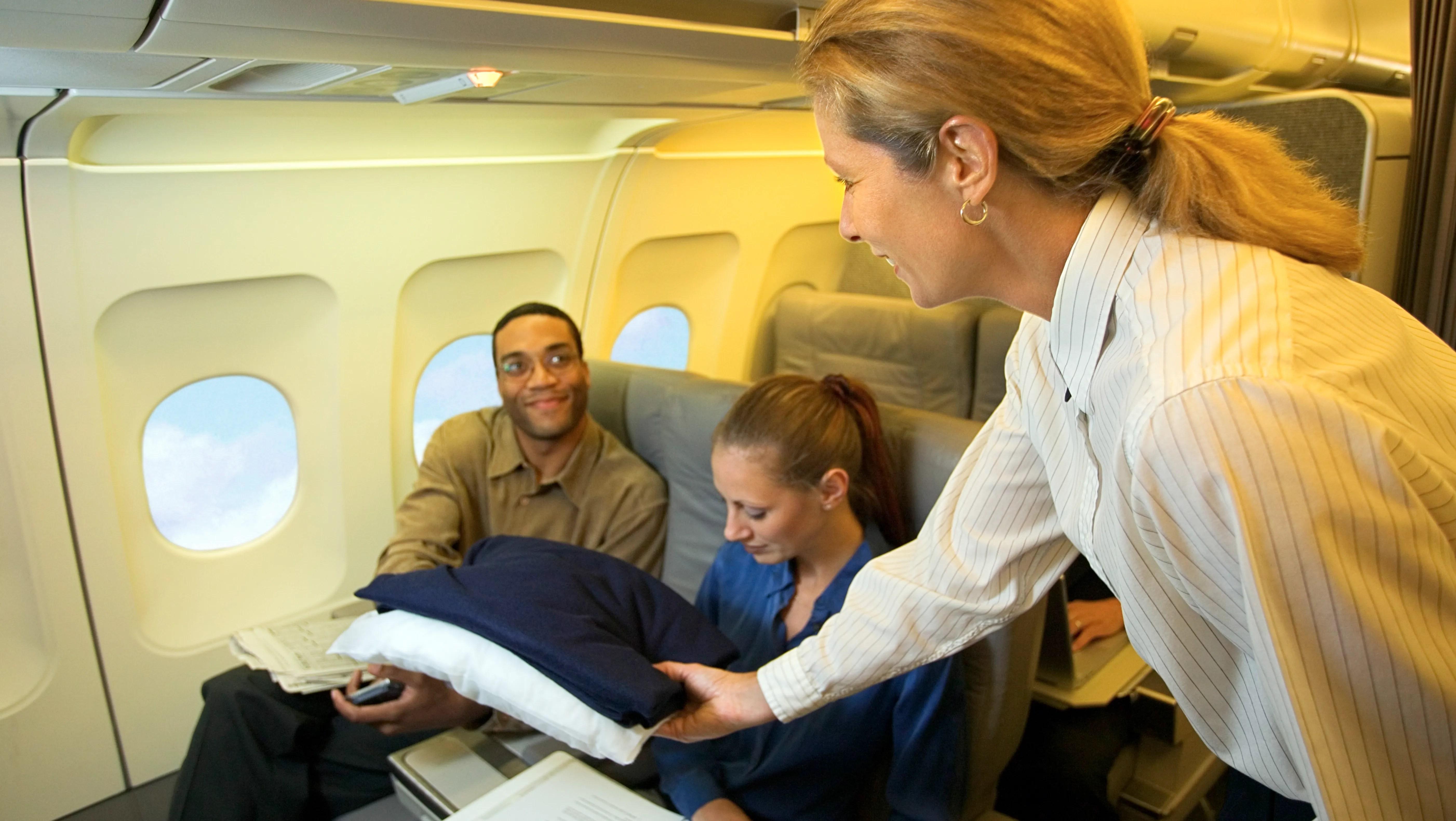 Five myths about flight attendants