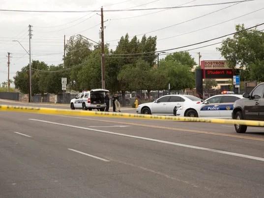 Reports of a man with a gun near Bostrom High School has the school on lockdown