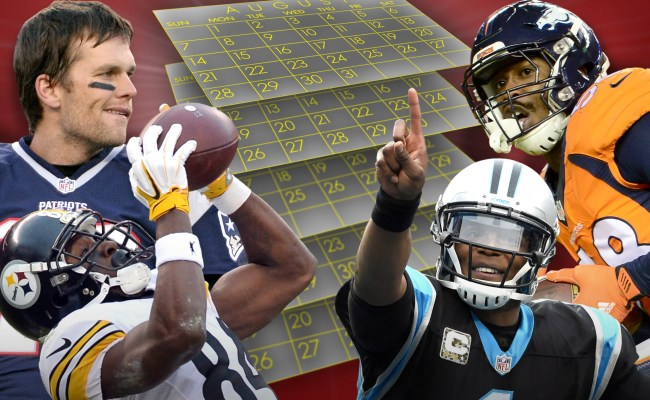 Nfl Schedule Highlights Revenge Games Holidays And Odd