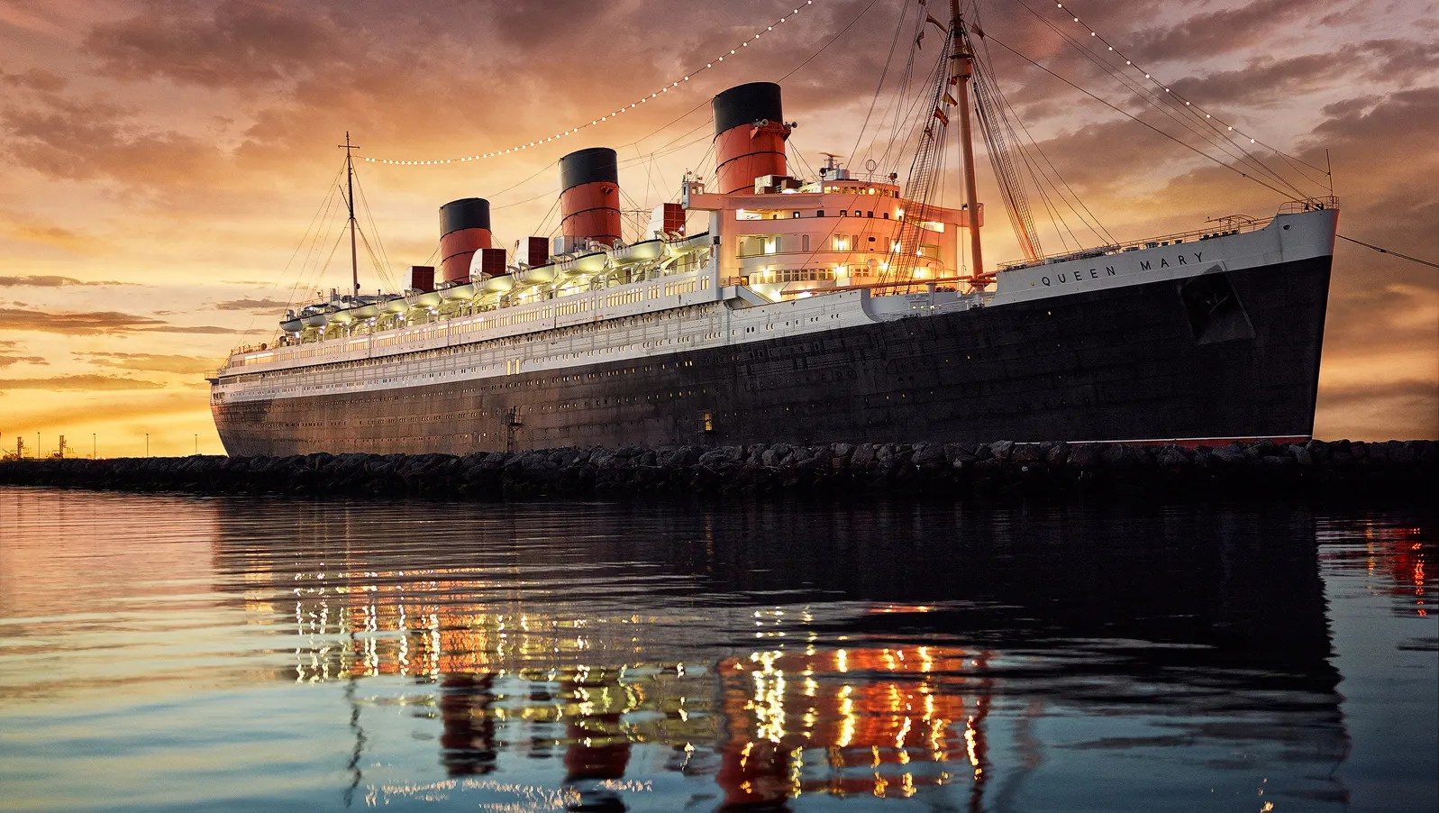 Queen Mary Qe2 Ss United States Tour Of Iconic