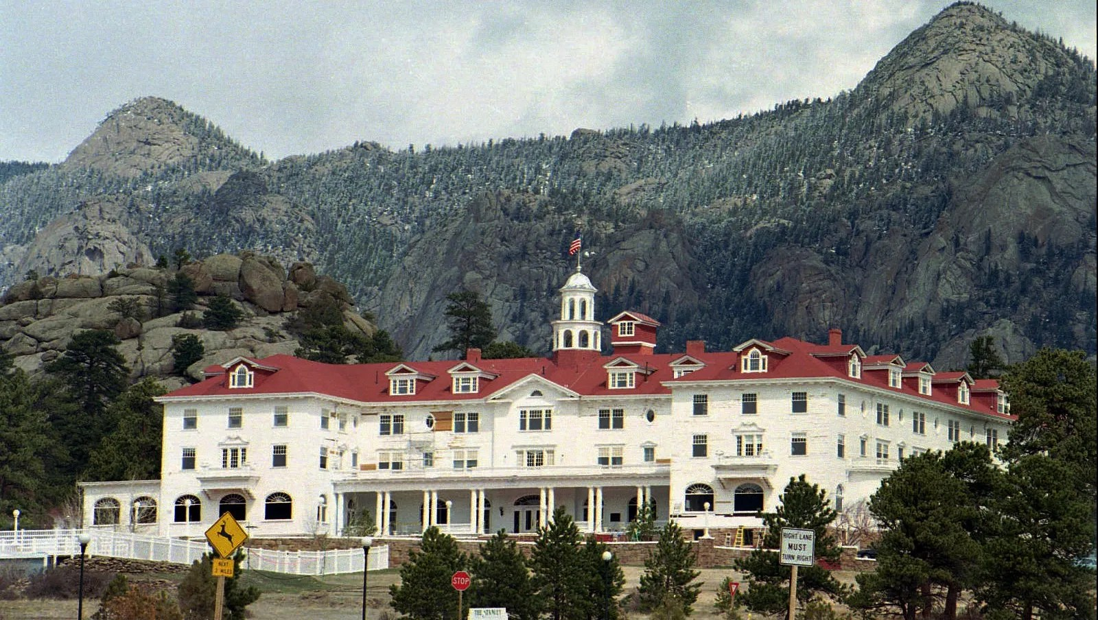 Ghostly Figure Appears In ' Shining' Hotel