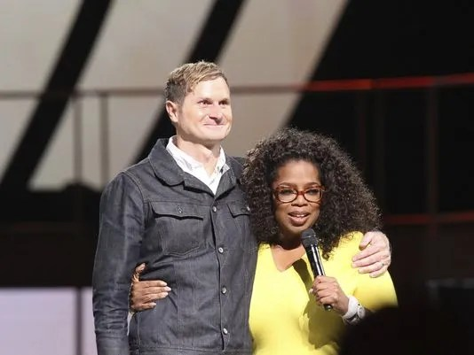 Rob Bell with Oprah