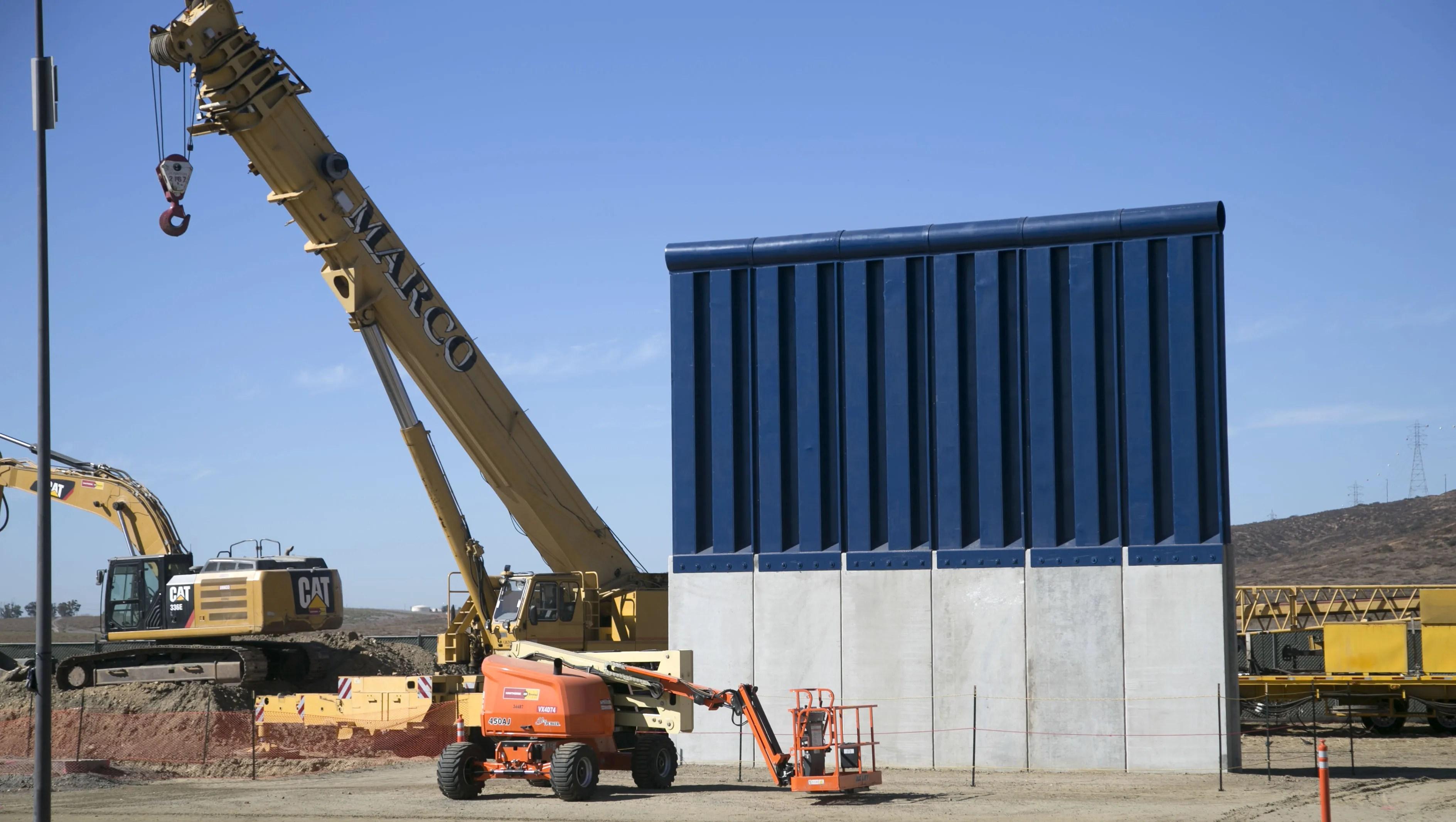 Arts Group Wants President Trump S Border Wall Prototypes