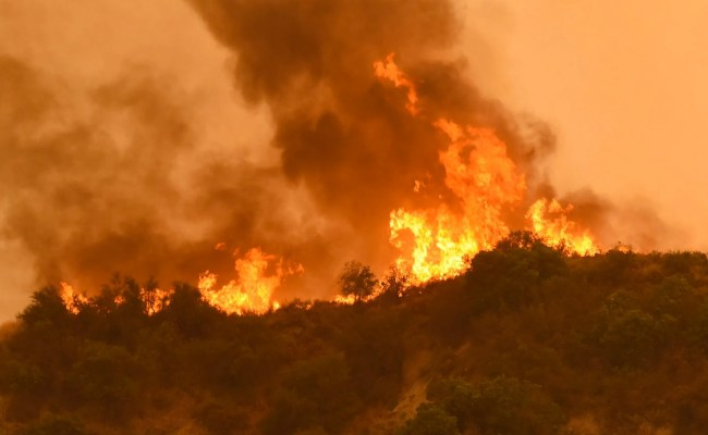 California Wildfires Rage Force Thousands To Evacuate