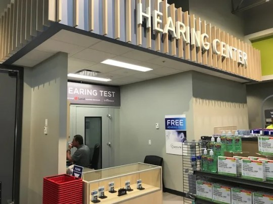 Hy-Vee Inc.'s new HealthMarket features a hearing aid