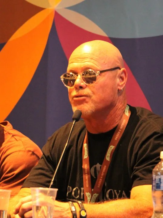 Jim McMahon at Southwest Cannabis Convention and Expo