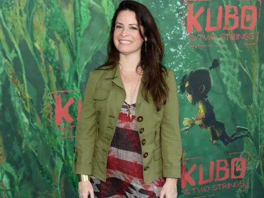 Actress Holly Marie Combs attends the premiere of Focus