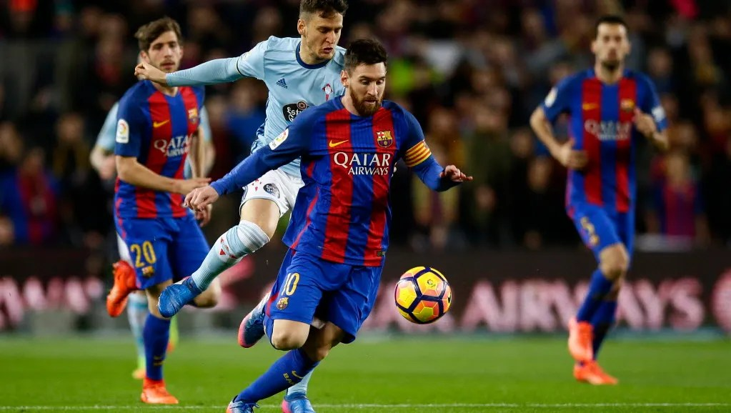 Barcelona Routs Celta Vigo Ahead Of Champions League Match