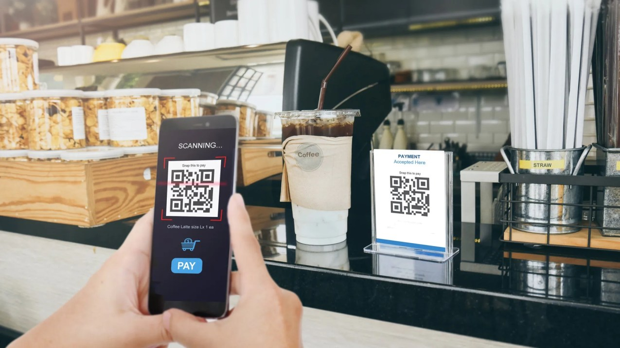 You don't need a third-party app to scan QR codes anymore. Many phone cameras apps can scan them now.