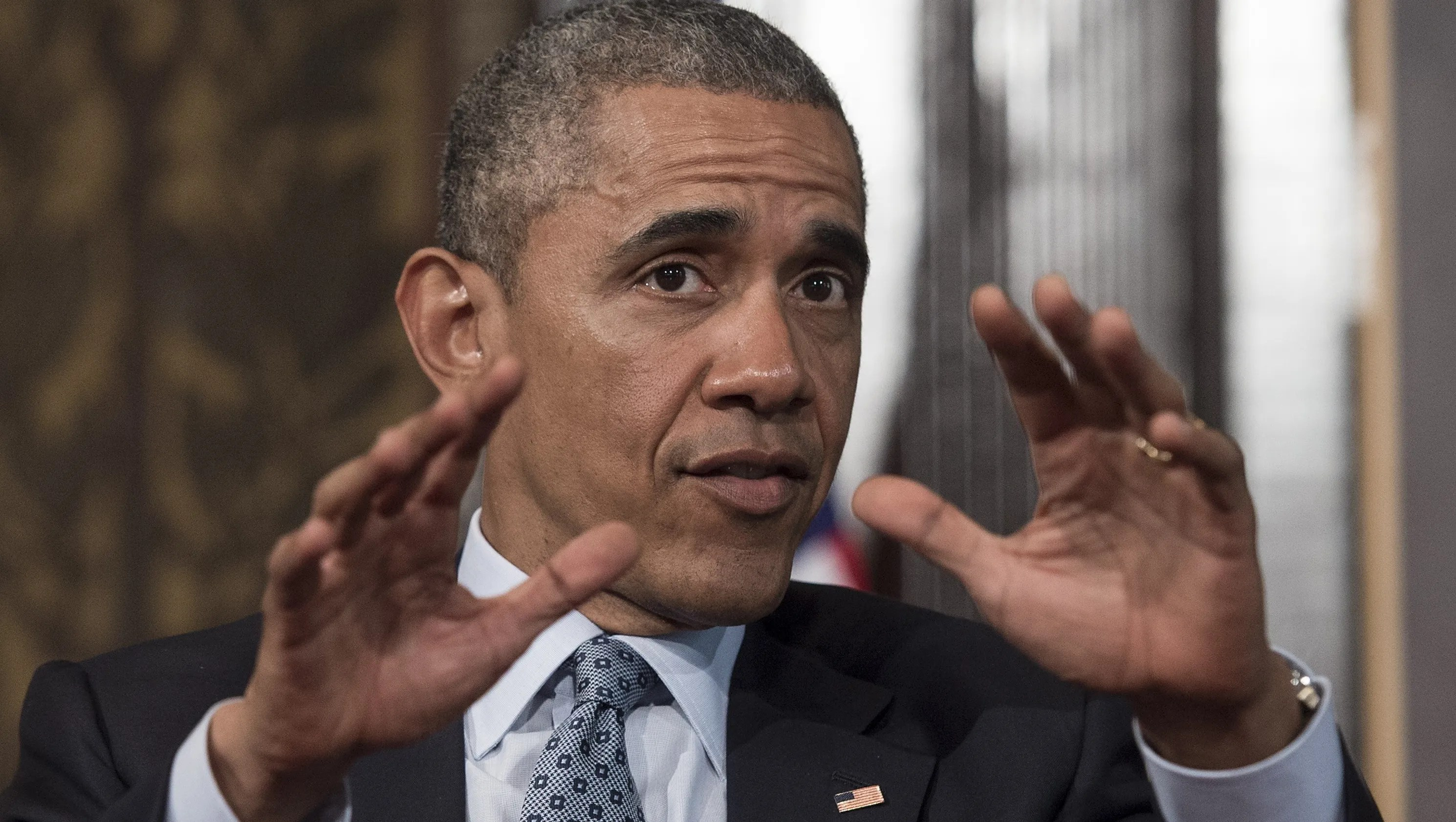 Obama talks about racism drops the n word