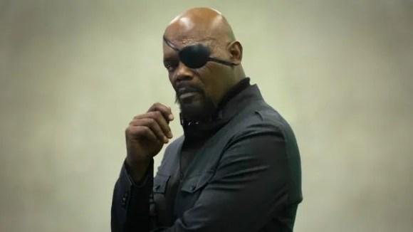 Will Captain Marvel be a lifeline for Nick Fury (Samuel L. Jackson)?