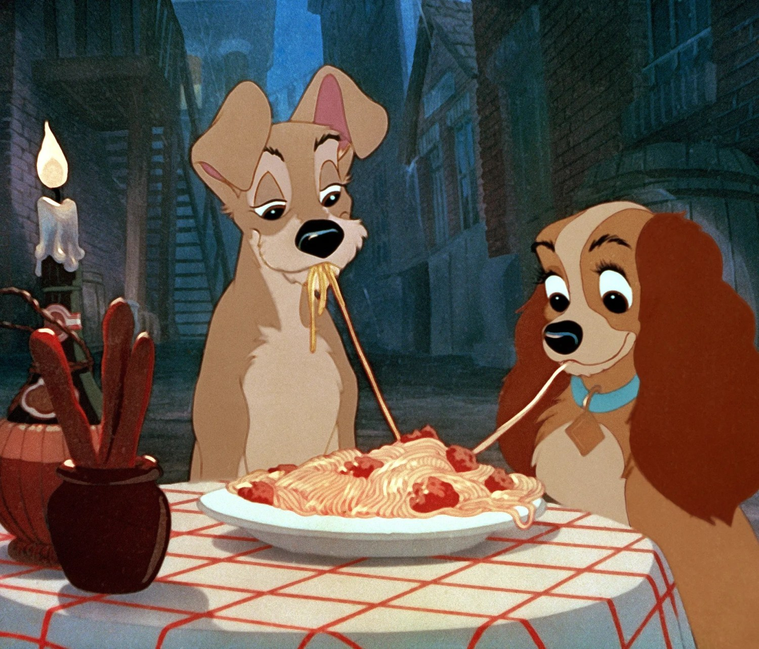 Lady and the Tramp from Lady and the Tramp