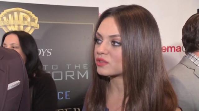 Mila Kunis Dodges Engagement Question