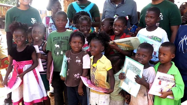 Children Receive Home Education Liberia Ebola