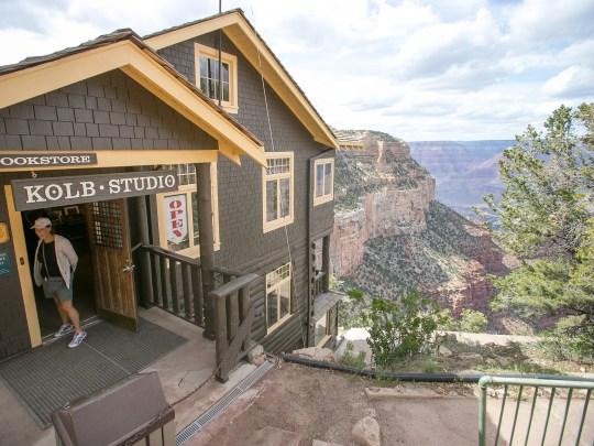 Kolb Studio on the South Rim of Grand Canyon National