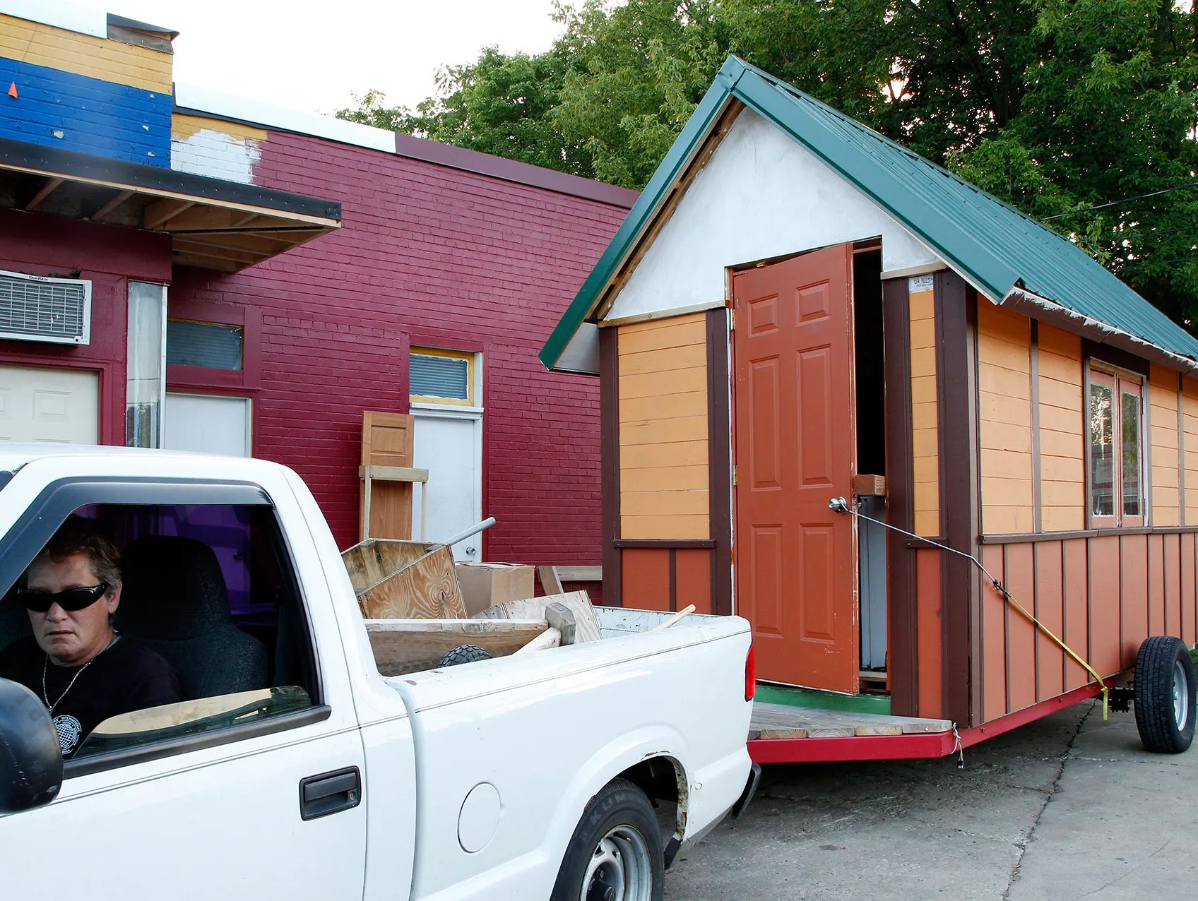 Tiny Houses Aim To Help Homeless