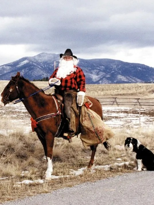 Celebrate Christmas With An Old Western Flare In Ovando