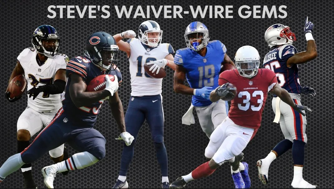 Fantasy waiver wire tarik cohen will be  factor all season long also football javorius allen lead the way rh usatoday