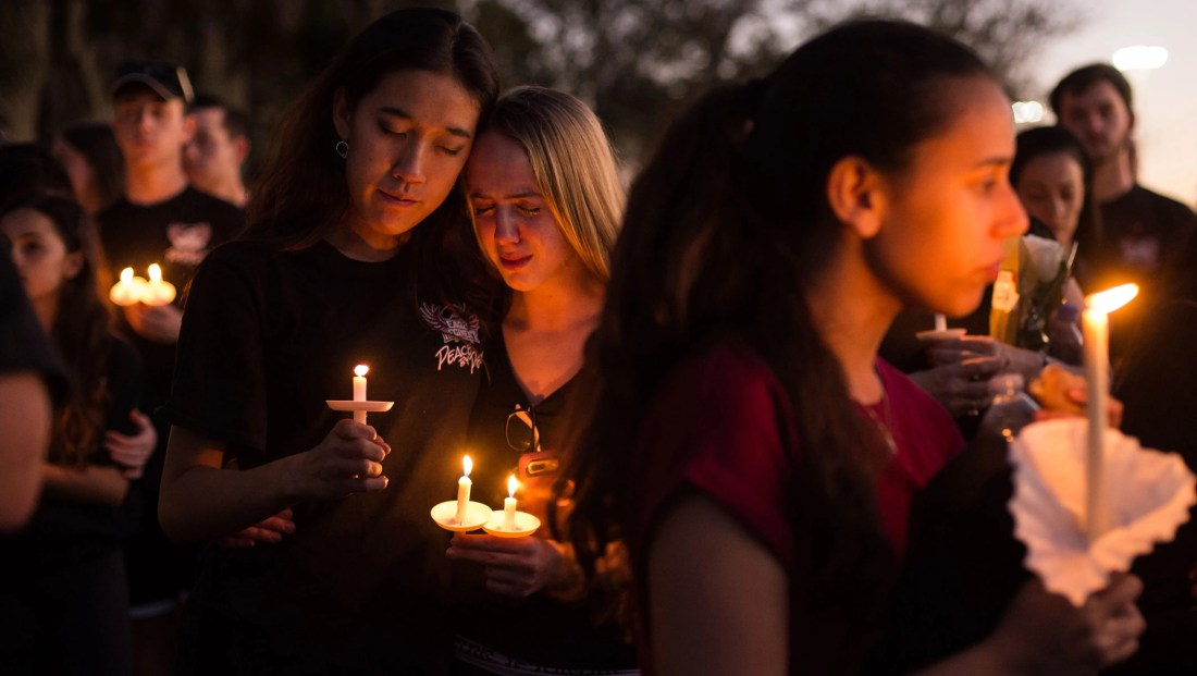 Image result for parkland shooting vigil