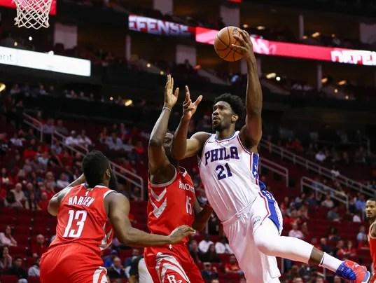 NBA: Philadelphia 76ers at Houston Rockets