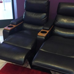 Recliner Chairs Movie Theater Party For Rent Luxury Recliners Reserved Seating Coming To Regal Green