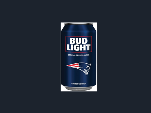Raiders Bud Light Cans