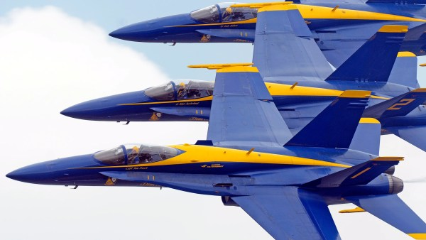 Blue Angels Announce 2017 Practice Schedule