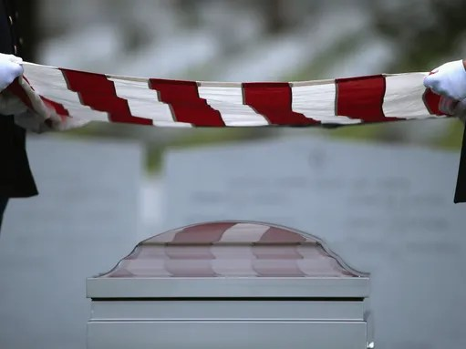 Getting buried at Arlington cemetery can take an eternity