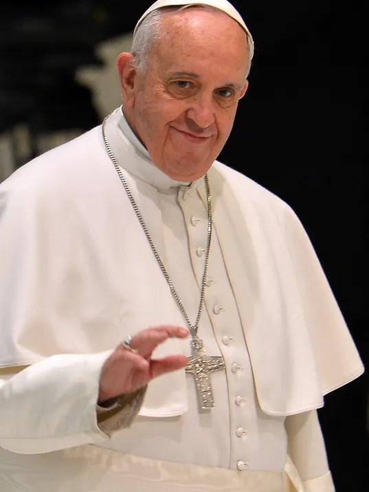 VATICAN-POPE-AUDIENCE-UCIM