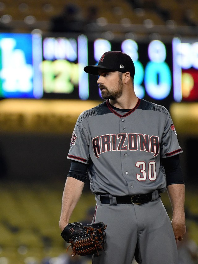 Arizona Diamondbacks have a short and questionable history with sartorial selection, especially their most recent coal-mining gray road uniforms. Almost makes you long for the expansion days sleeveless jerseys and purple pinstripes.