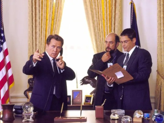 """The Emmy-winning series """"The West Wing"""" showed viewers"""