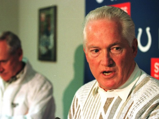 Bill Tobin, Colts general manager from 1994-96.