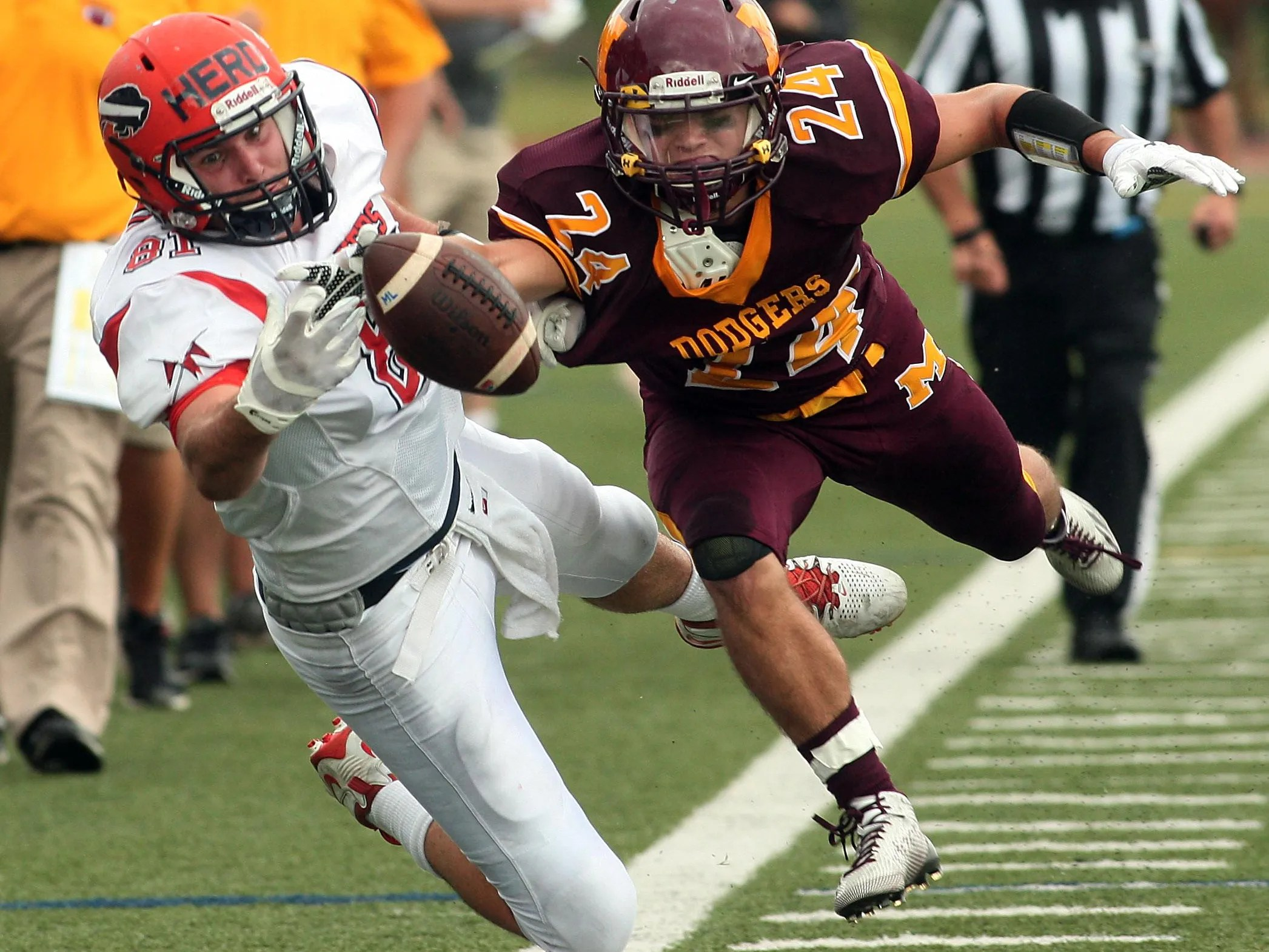Madison Blows Past Mountain Lakes Usa Today High School Sports