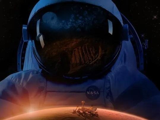 NASA Mars illustration