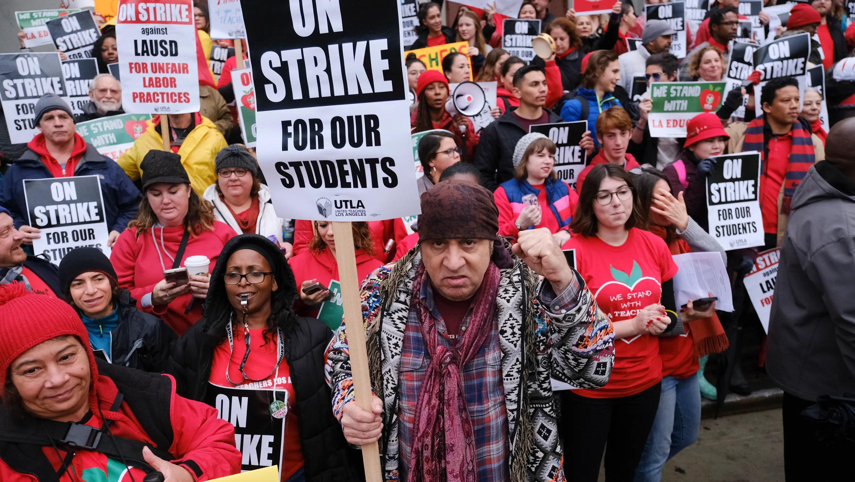 L. Strike Winning And Lausd Teachers