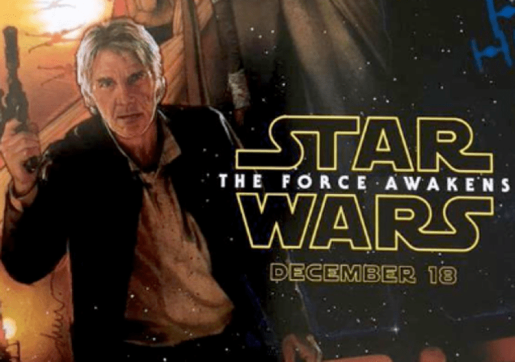Harrison Ford, seen as Han Solo in new 'Star Wars'