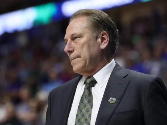 Michigan State head coach Tom Izzo has been to seven