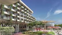 Disneyland Build Luxury Hotel Close Espn Zone