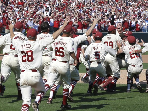 Woo Pig Sooie Arkansas Reaches Cws With 3-2 Win Over Missouri State Usa Today High School Sports