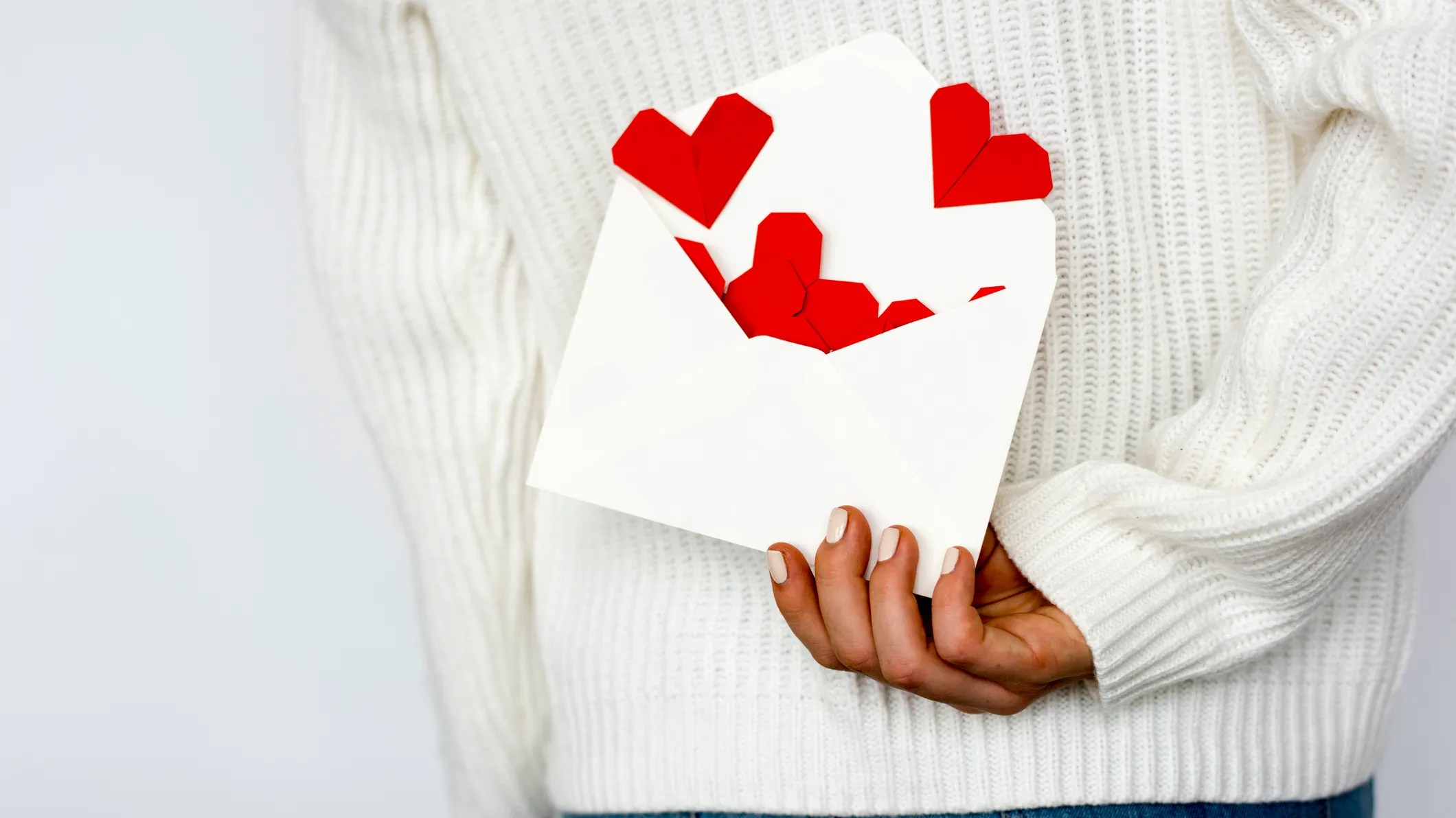Handwrite your love letters and mail them to your significant other.
